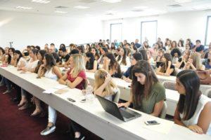 סטודנטים במרכז האקדמי פרס
