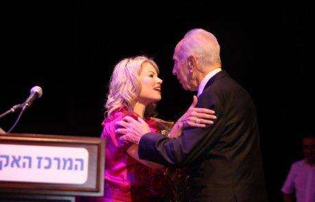 שנה למותו: עפרה אלול מתגעגעת לשמעון פרס